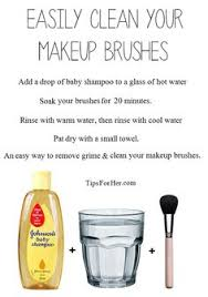 clean makeup brushes an inexpensive easy way to remove grime and clean your makeup brushes