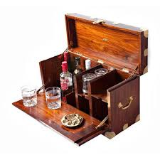 classic british campaign furniture available from india nainital safari bar bar trunk furniture