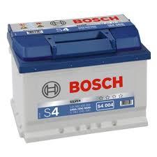 Аккумулятор <b>BOSCH</b> S4 004 Silver 560 409 054 обратная ...