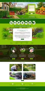 web site design samples web site design portfolio website samples jb butler landscaping