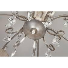 <b>Люстра потолочная</b> Liona <b>60065/8</b>, 8 ламп, 26 м², цвет серебро в ...