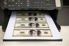 Strong Big Format Paper Money Offset Print Machine   Buy Big     Pinterest Stacks of freshly printed and wrapped one hundred dollar bills