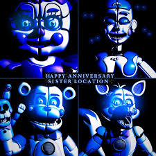 Happy Anniversary Sister Location - [<b>Blender</b>] by ChuizaProductions ...