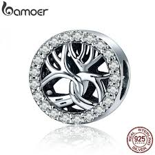 <b>High Quality Authentic 925</b> Sterling Silver Tree of Life Sparking CZ ...