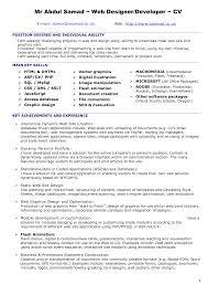 ui developer resume ui developer resume 5430