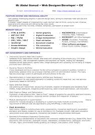 ui developer resume resume web developer resume samples web developer resume cv ui developer resume 5633
