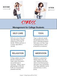 lesson reducing stress stress management for college students handout stress management for college students link