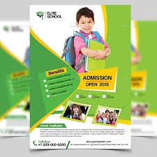 junior school flyer template by aam360 graphicriver screenshot 1 jpg