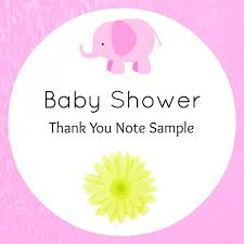 baby shower thank you wording archives confetti bliss baby shower thank you wording surprise guest