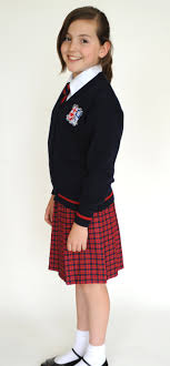 what are the pros and cons of requiring school uniforms on the skirt is worn by prep and senior girls as part of the school uniform