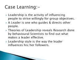 A Review of Leadership Theories  Principles and Styles and Their