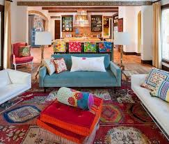 view in gallery bohemian style living room