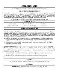 resume mechanical engineering template free resume format for quality engineer