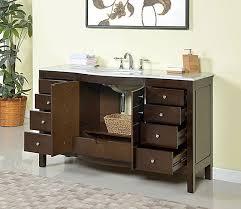 bathroom vanity 60 inch: mtdvanities ricca  single sink bathroom vanity set with mirror