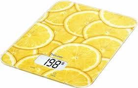 Кухонные <b>весы Beurer KS 19</b> lemon купить в интернет-магазине ...