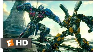 Transformers: The Last Knight (2017) - Bumblebee <b>vs</b> Nemesis ...
