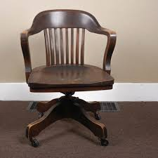 antique wood office chair antique wooden office chair
