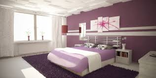 bedroom decorating ideas purple