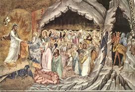 Resultado de imagen de Descenso de Cristo al limbo