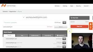 NameCheap Domain Name Registrar Tutorial 2016 - NameCheap ...