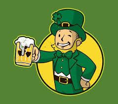 Geeky <b>St</b>. Patrick's Day T-Shirts | <b>Vault boy fallout</b>, <b>Vault boy</b>, <b>Fallout</b> ...