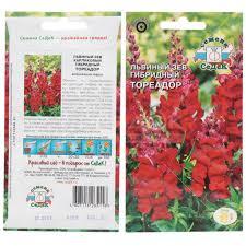 <b>Семена Львиный зев Тореадор</b> F1, 20 г, в цветной упаковке Седек