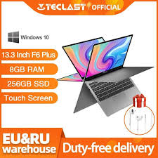 <b>Newest Teclast F6</b> Plus Laptop 13.3 Inch 8GB RAM 256GB ROM ...