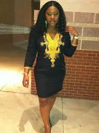 <b>African Clothing</b>, African <b>Dashiki Dress</b> – Owame