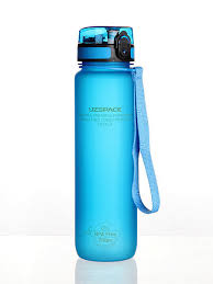 <b>Бутылка для воды</b> Colorful Frosted <b>1</b> литр UZSPACE 5662075 в ...