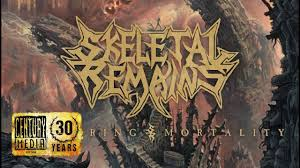 <b>SKELETAL REMAINS</b> – <b>Devouring</b> Mortality (Album track) - YouTube