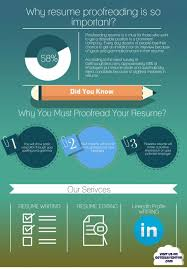 why resume proofreading is so important infographic portal resume proofreading