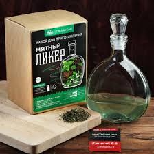 Подарочный <b>набор</b> для приготовления алкоголя «Мятный <b>ликер</b> ...