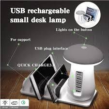 5Port 5V 3.0 Multi Port <b>USB Charger</b> Mushroom <b>Night Lamp USB</b> ...