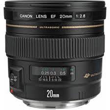 <b>Canon EF 20mm f/2.8</b> USM Lens 2509A003 - Adorama