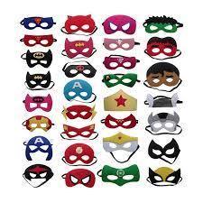 <b>10pcs</b>/<b>set</b> Creative <b>Cartoon</b> Super Hero Masquerade Mask 2016 ...