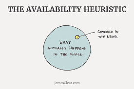common mental errors that sway your decision making availability heuristic
