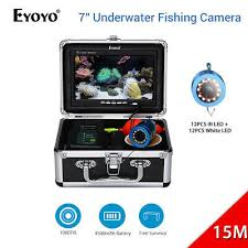"""<b>Eyoyo</b> 7"""" <b>15M</b>/<b>30M</b>/50M Underwater <b>Fishing</b> Camera <b>Fish</b> Finder for ..."""