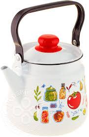 Купить <b>Чайник</b> Appetite Marinades <b>эмалированный 3.5</b>л с ...