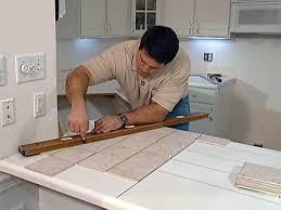 diy tile kitchen countertops: