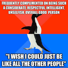 Frequently complimented on being such a considerate, respectful ... via Relatably.com