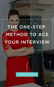17 best images about interview tips tips for the 3 step method to ace your job interview