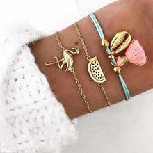 <b>Женский браслет в</b> форме сердца с жемчугом и волнистыми ...
