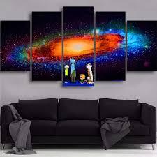 Modern Canvas Home Decor Poster Living Room Framework <b>5</b> ...