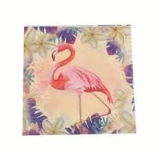 Home must <b>10PCS Flamingo</b> Theme <b>Paper Napkins</b> Party Tissue ...