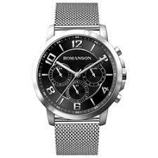 «<b>Мужские</b> наручные <b>часы Romanson</b> TM 8A36F MW(BK ...