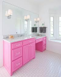 girls bathroom interior pink