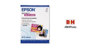<b>Epson Photo Quality</b> Inkjet Cards S041054 B&H Photo Video