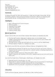 professional city clerk templates to showcase your talent    resume templates  city clerk