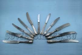 Серебряные <b>столовые ножи</b> в магазине «Советское <b>Столовое</b> ...