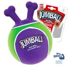 <b>GiGwi игрушка</b> джамболл, теннисная резина,18 см